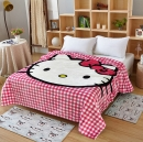 Флисовый плед Hello Kitty №4 150 х 200 см.