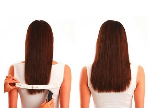 Как сделать ровные кончики на волосах